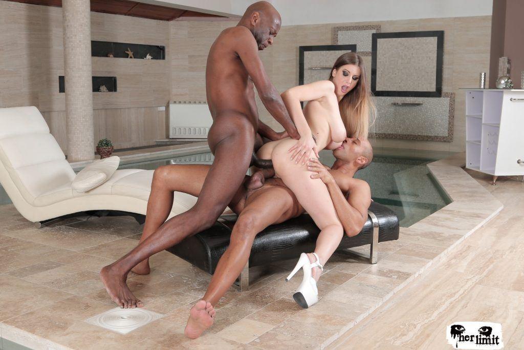 Big beautiful black women interracial sex